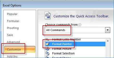 how to use format painter in ms word